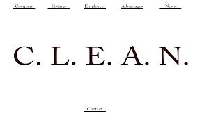 Clean Minimalistic Website